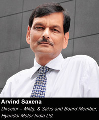 Being a preferred brand is better than being a market leader :    Arvind Saxena, Board Member & Director ( Marketing & Sales) at Hyundai Motor India Ltd